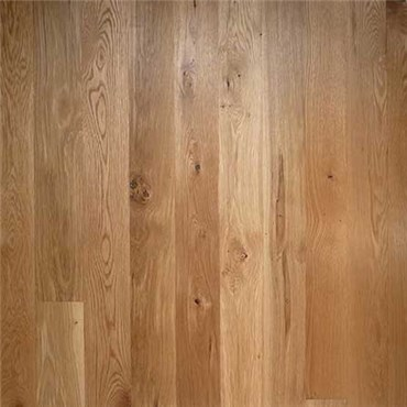 White Oak Character Unfinished Engineered Hardwood Flooring